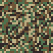 Abstract Vector Military Camouflage Background — Stock Vector