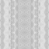 Vintage Seamless Vector Wallpaper — Stock Vector