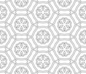 Vektör soyut kesintisiz geometrik İslami duvar kağıdı. — Stok Vektör