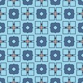 Vector abstraite Seamless géométriques islamiques Wallpaper. — Vecteur