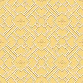 Абстрактные бесшовные геометрические Исламской обои вектор. — Cтоковый вектор