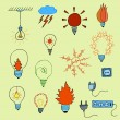 Electric icons set1 — Stock Vector #74068745