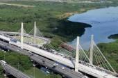 Suspended bridge in Barra da Tijuca — Stock Photo