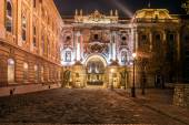 Royal Castle Square, Budapest — Stock Photo