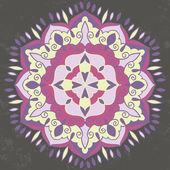 Ornamental round mandala — Διανυσματικό Αρχείο