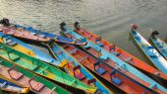 Long-tail boats — Stock Photo