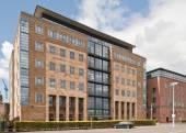 Office Building in Newcastle Uopn Tyne, UK — Stock Photo