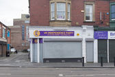 UKIP Constiuency office, Blyth, Northumberland, UK — Stock Photo
