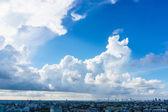 Big skies over cityscape in Bangkok Thailand — Stock Photo