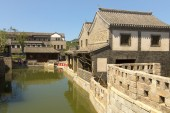 Beijing Ancient Architecture Rivers — Stock Photo