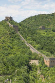 Majestic Great Wall in China — Stock Photo
