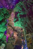 China caves karst landforms — Stock Photo