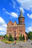 Inactive Konigsberg Cathedral constructed in style of the Baltic gothic — Stock Photo