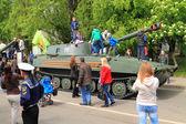 "The howitzer ""Carnation"" — Stock Photo"