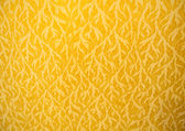 Close Up Of Gold Fabric Delicate At Stripe Background. — Stock Photo