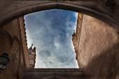 Oblouk, katedrála v Palermu — Stock fotografie
