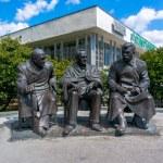 ������, ������: Monument Roosevelt Joseph Stalin Winston Churchill