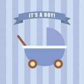 It is a boy — Stock Photo