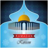 Ramadan Kareem Artwork — Stock Vector