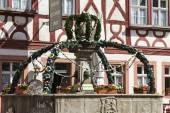 Osterbrunnen in Prichsenstadt — Stock Photo