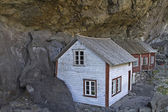 Rock houses — Stock Photo