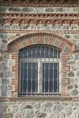 Window with bars — Stock Photo