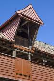 Storage house detail in Bergen — Stock Photo