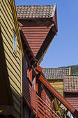 Storage house detail in Bergen — Stock Photo