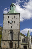 Cathedral of Bergen — Stock Photo