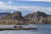 Norwegian Atlantic coast — Stock Photo