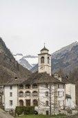 San Giuseppe im Val Sermenza — Stockfoto