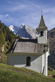 Kapelle im Valser Tal — Stock Photo