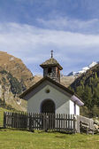Church in the Vals Valley — Stock Photo