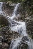 Lainbach waterfall — Stock Photo