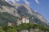 Castillo de gutenberg en balzers — Foto de Stock