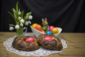 Pasqua still life — Foto Stock