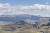 In Sibillini mountains — Stock Photo