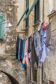 Jour de lessive à Badalucco — Photo