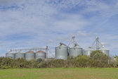 Silos in Central Italy — Stock Photo
