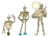 Robot — Stock Vector