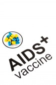 Science research by AIDS Oral vaccine capsule, HIV — Stock Photo