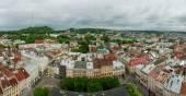 Lviv center panorama — Stock Photo