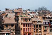 Overpopulated city of Kathmandu, Nepal — Stock Photo