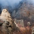 Dark Ghost valley in Crimea mountains — Stock Photo #78060218