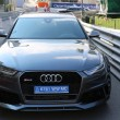 Постер, плакат: Audi RS 6 Quattro in Monaco