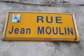 Jean Moulin Street — Stock Photo