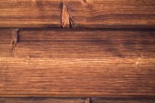 Wooden background. Brown grunge texture of wood board — Stock Photo