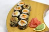 美味的寿司寿司卷 — 图库照片