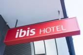 The ibis hotel logo — Stock Photo