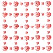 Heart valentine vector white background — Stock Photo #75136927